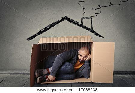 A precarious house