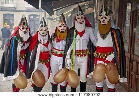 Carnival In Xinzo De Limia