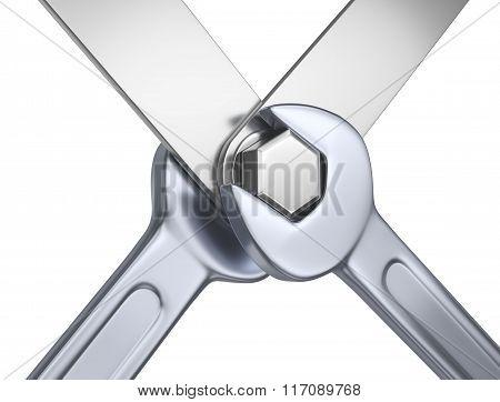 Symbolic mechanical fixing