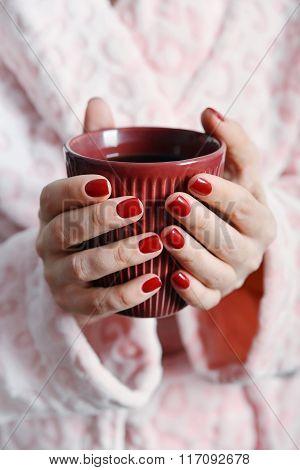 Mug In Hands