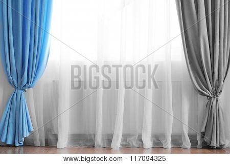 Curtain on the window