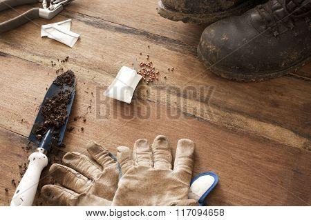 Gardening Background Concept