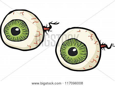 Cartoon Doodle Eyes