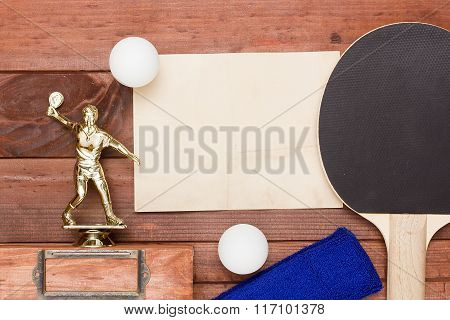 Creative On The Topic Of Table Tennis