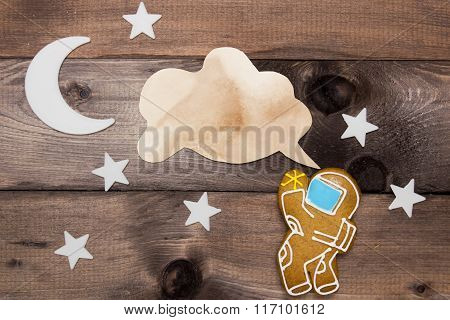 Cookies Cosmonaut Creativity On The Theme Of Space