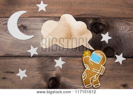 Cookies Cosmonaut Creativity On The Theme Of Space
