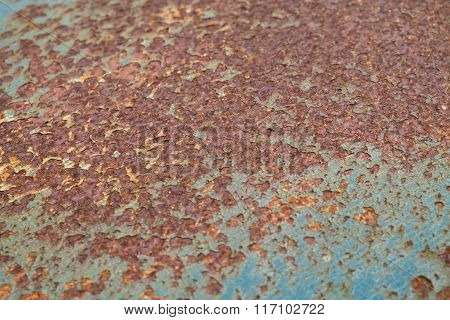 Rusted steel texture background