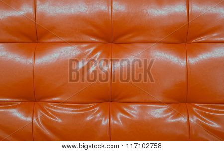 Scarlet Leather Background