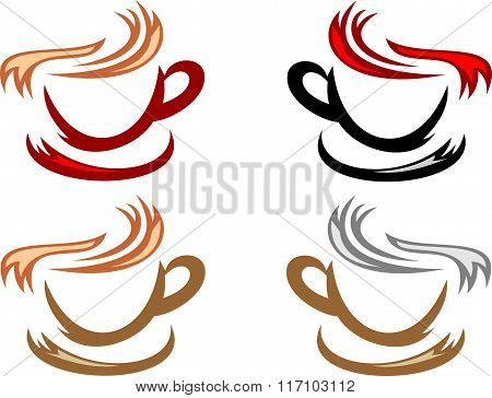 stock logo hot drink