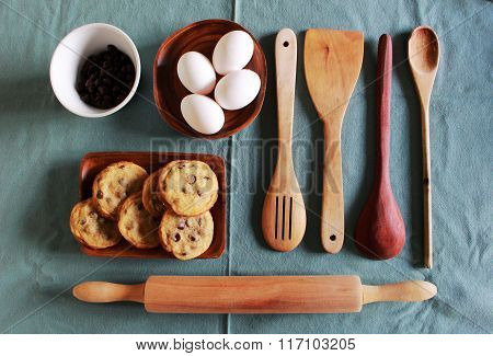 kitchenware for homemade pastry