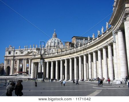 St. Peter'S Square, Vatican City; Rome; Italy