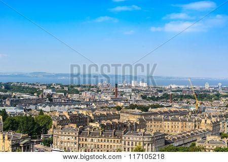 Edinburgh City, Top View