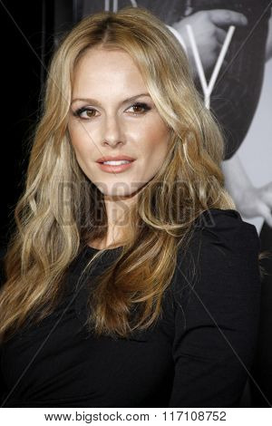 Monet Mazur at the Los Angles Premiere of