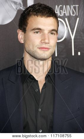 Alex Russell at the Los Angles Premiere of