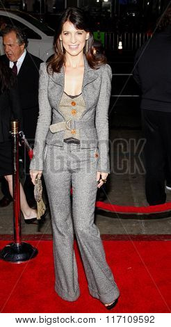 Perrey Reeves at the Los Angles Premiere of