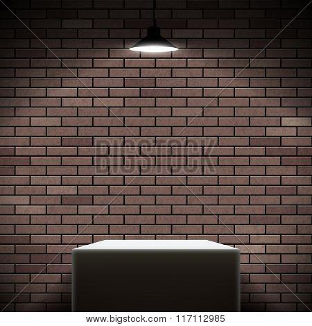Pedestal Illuminated Spotlight