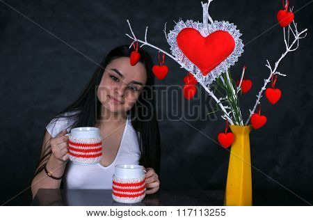 Only tea and coffee on St. Valentine's Day
