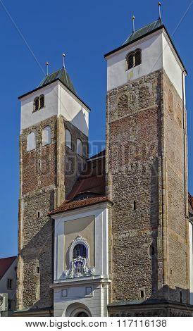 St Nicholas Church, Freiberg, Germany