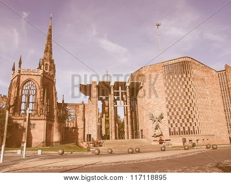 Coventry Cathedral Vintage