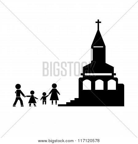 Church Stick Figure
