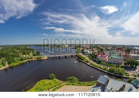Old Buildings Of Vyborg