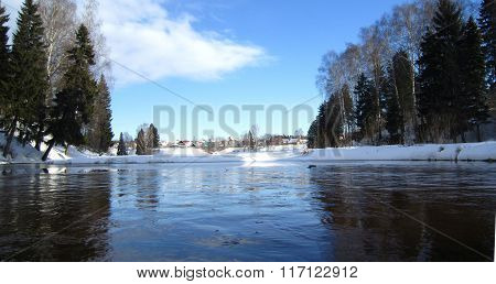 .winter Pond....