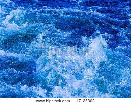 Clear Blue Water Boils