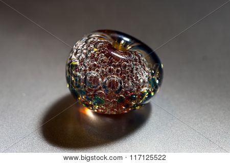 Macro shooting of colour bead