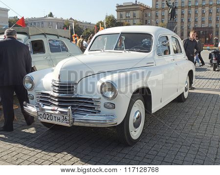 Executive Car Of 1950S Fastback Gaz-m20 Pobeda Version Ii