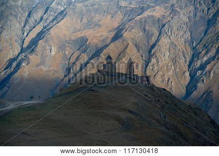 Old Church In Mountains