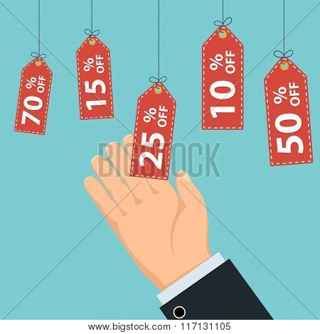 Tags With Discount