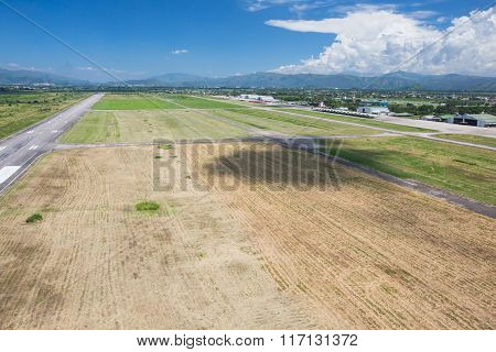 View From The Airfield Of Air