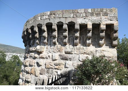 Tower In Bodrum Castle