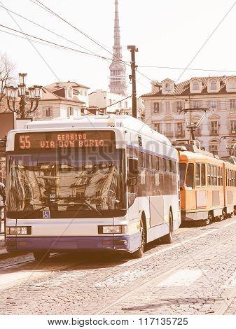 Turin Bus Vintage