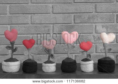 Saint Valentine Hearted Flower
