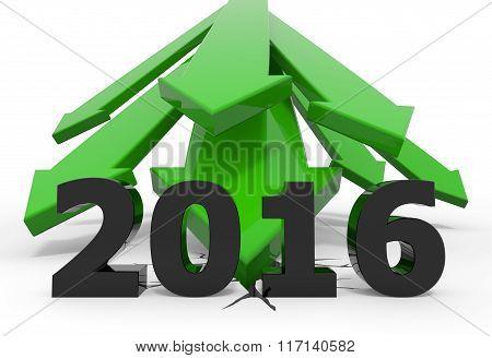 Green 3D Arrow Crash 2016