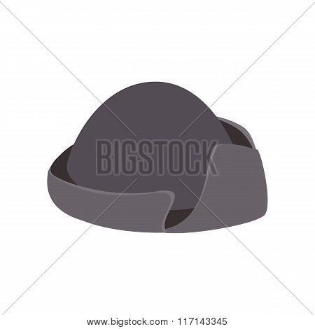 An old black hat isometric 3d icon
