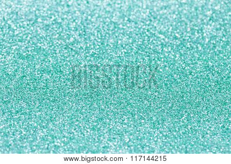 Turquoise Background With Sparkles.