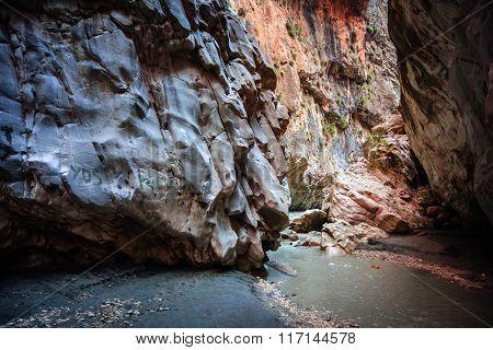 Turkey, Saklikent Canyon
