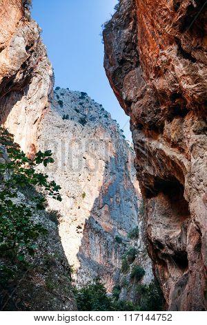 Saklikent Gorge in Turkey