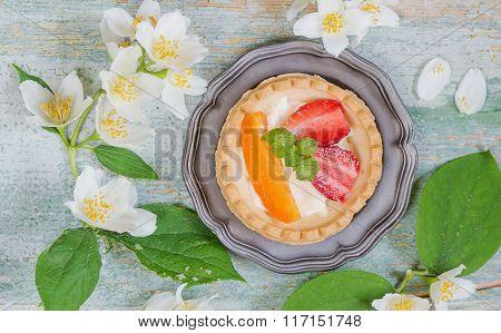 Dessert With Berries
