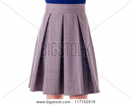 skirt on a white background