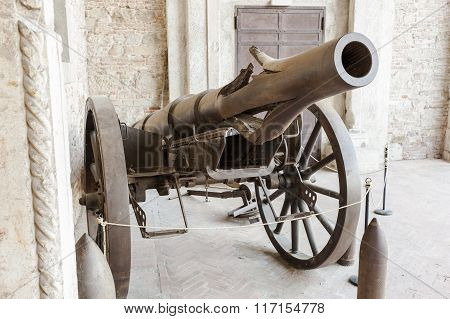 Krupp Cannon Carriage Of The First World War .