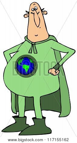 Mr. earth hero