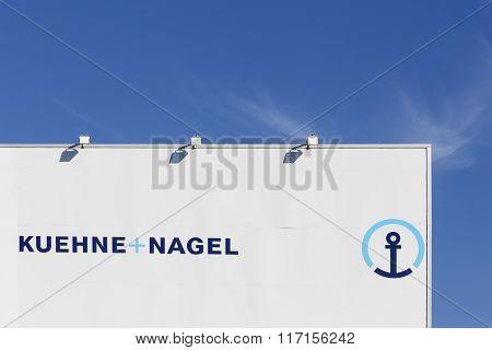 Kuhne Nagel logistic depot