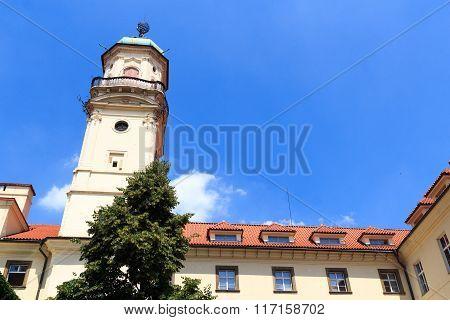 Astronomical tower of Clementinum Prague, Czech Republic
