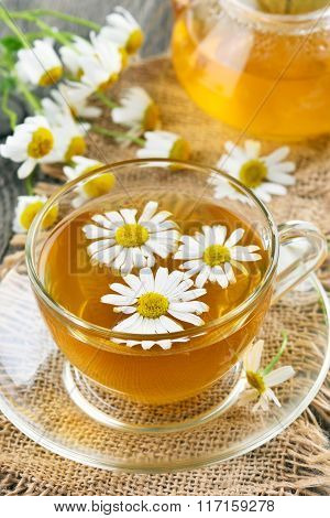 Healthy Herbal Camomile Tea
