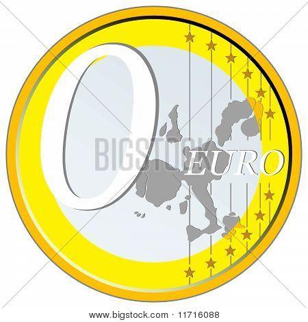 Zero Euro coin