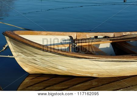 The Fore Of A Boat