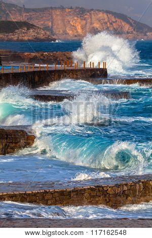 Adriatic Sea Surf
